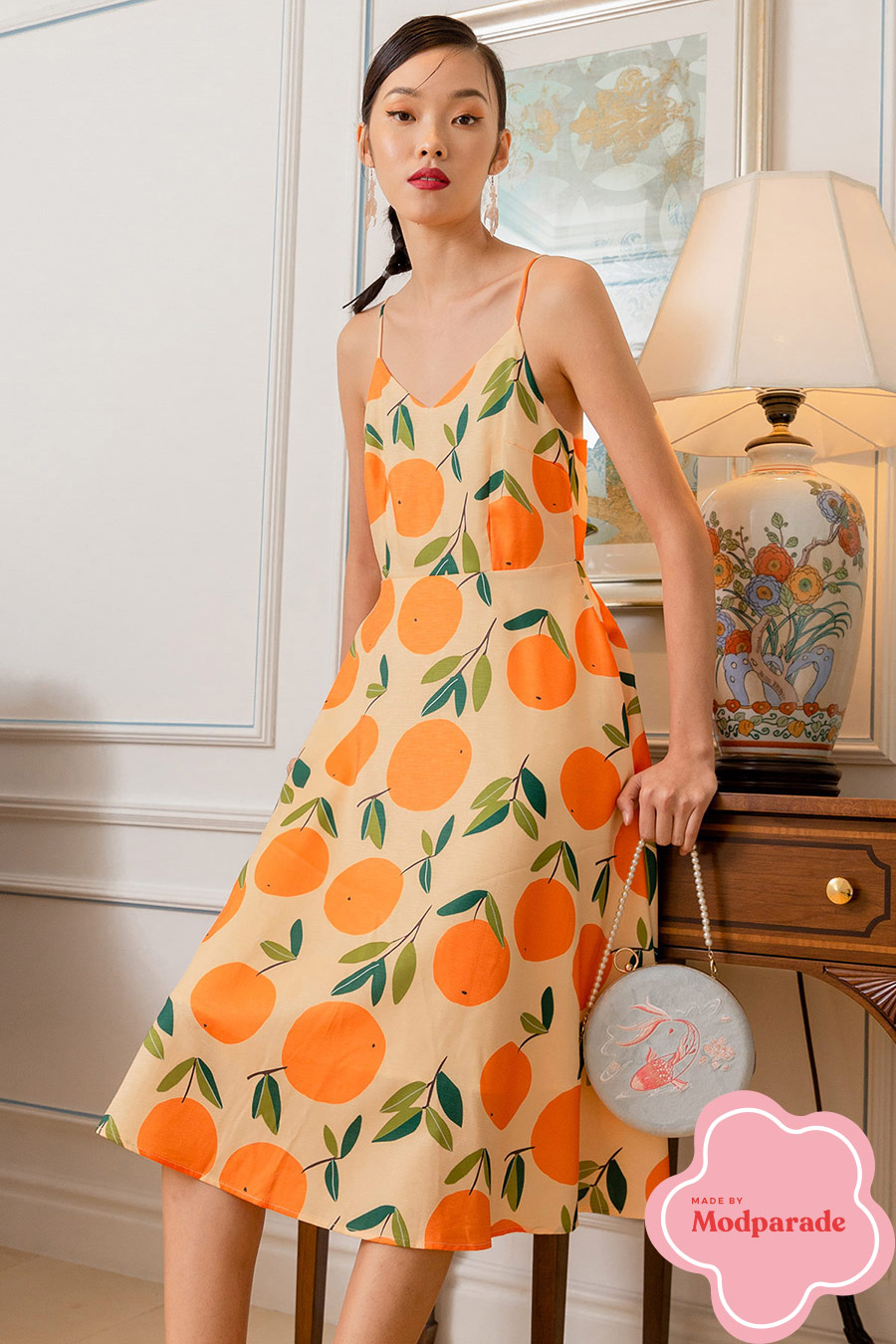 BENDT DRESS - MANDARINE [BY MODPARADE]