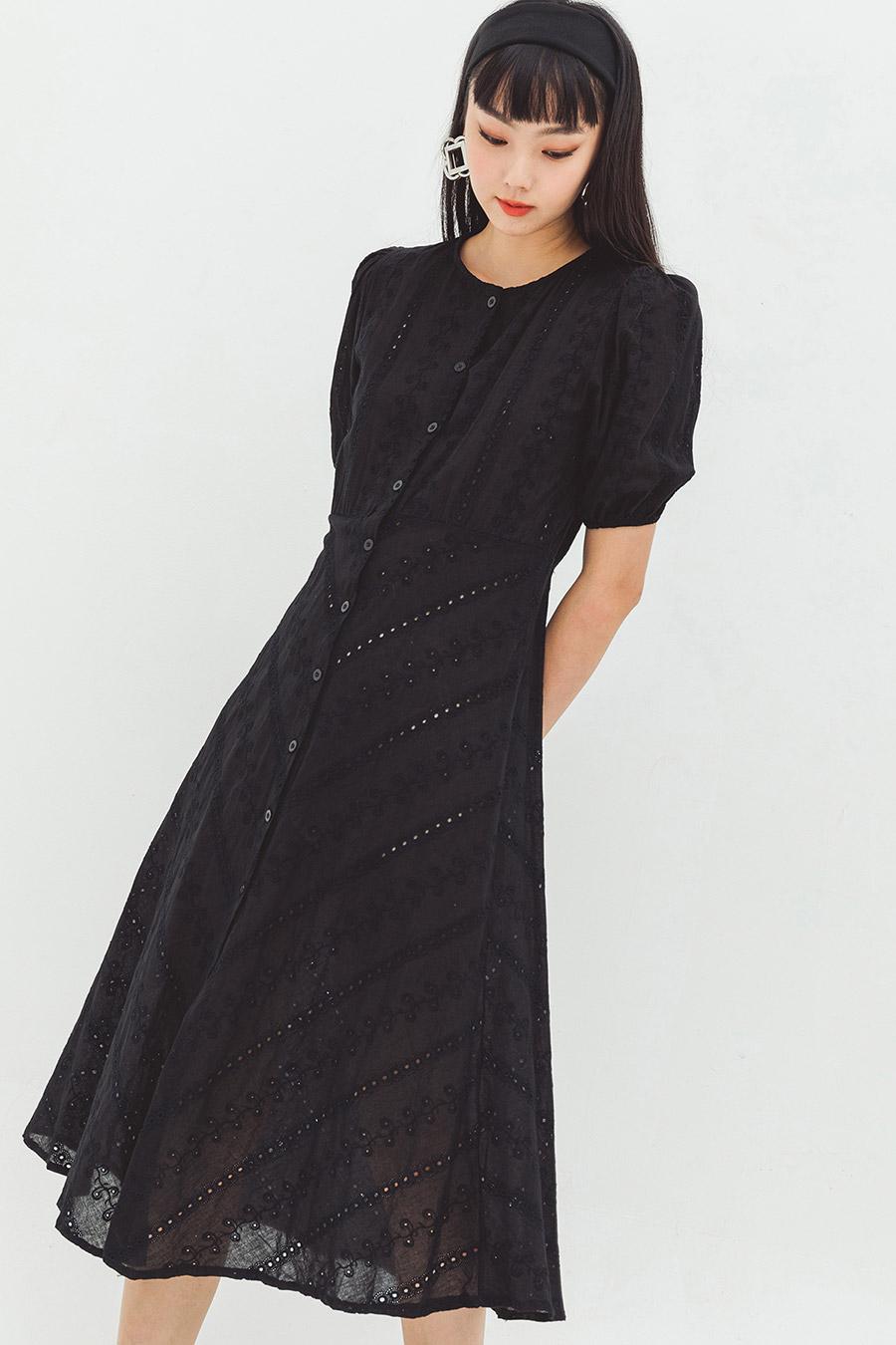 BIVIN DRESS - NOIR