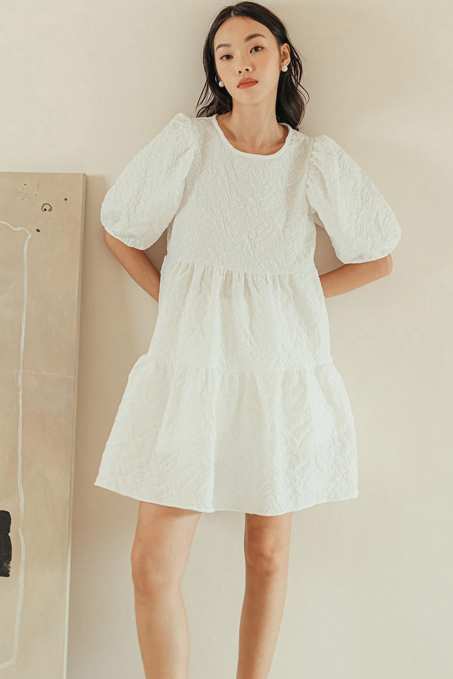 CAPON DRESS - IVORY
