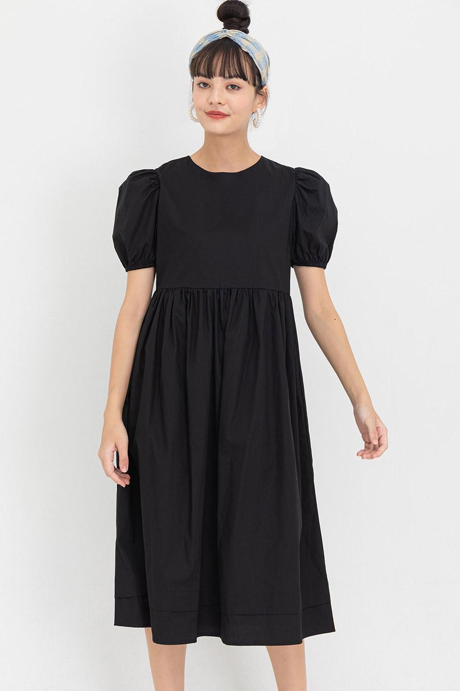 CORINA DRESS - NOIR