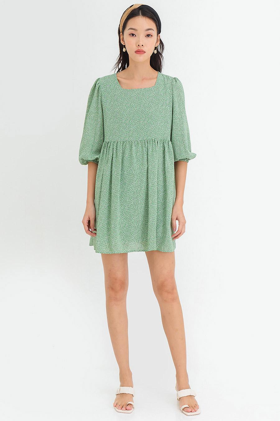FABIAN DRESS - PALM FLEUR