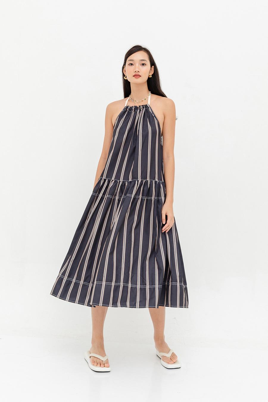 FABRON DRESS - STRIPES