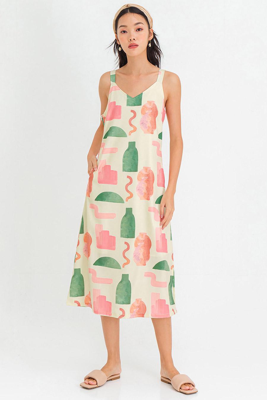 GELLAR DRESS - VALLEY [BY MODPARADE]