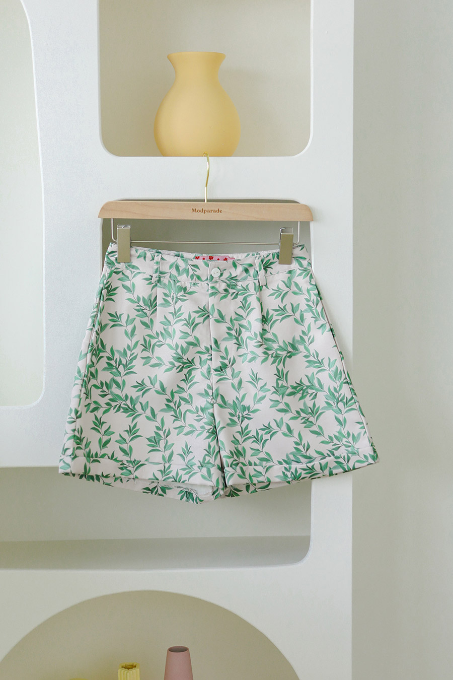 GEMMA SHORTS - BIRCH [BY MODPARADE]