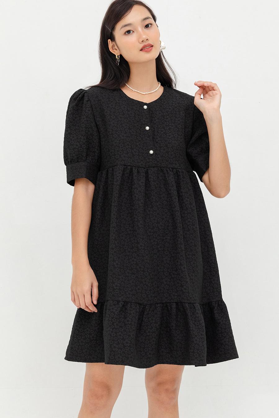HAMBLIN DRESS - NOIR