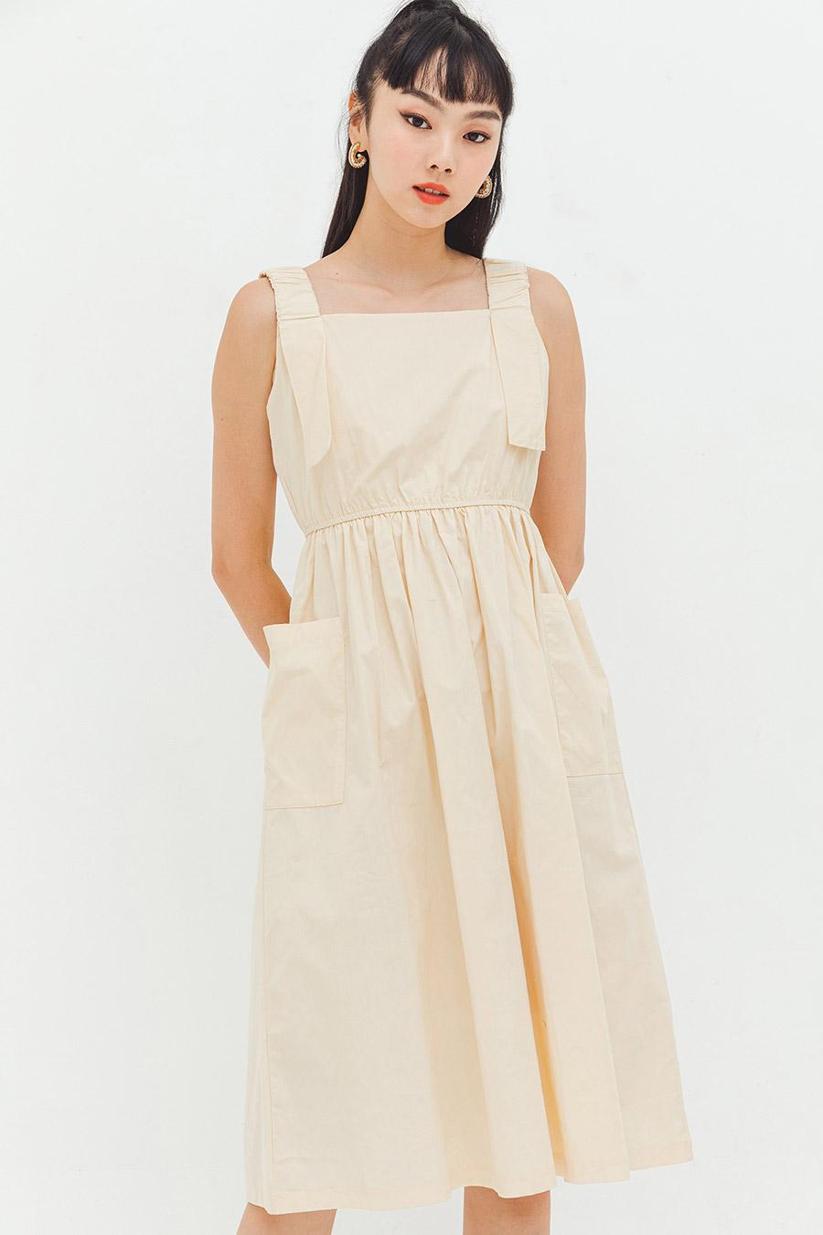 HEFINA DRESS - SAND
