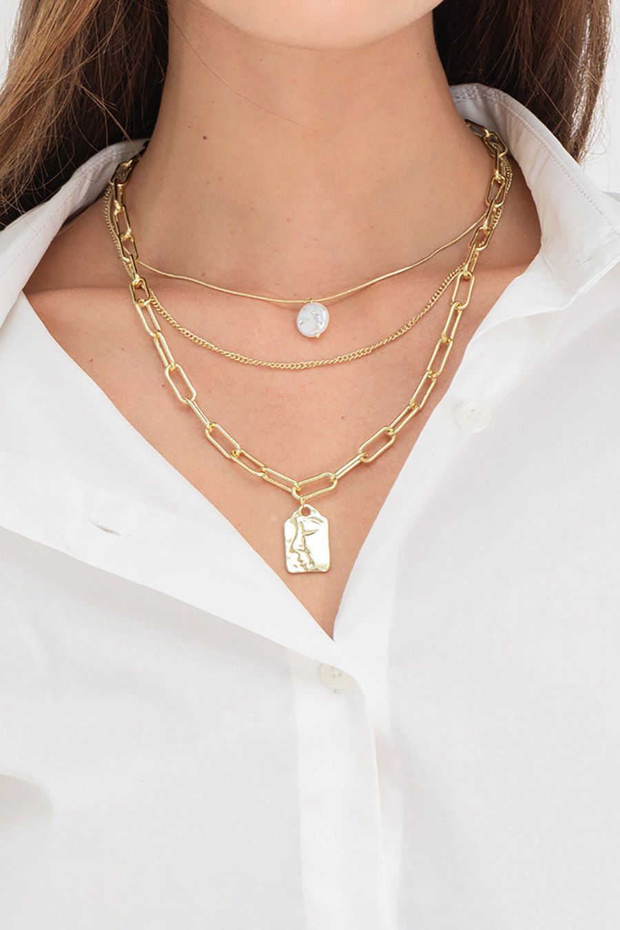 *RESTOCKED* HEMILA NECKLACE - GOLD