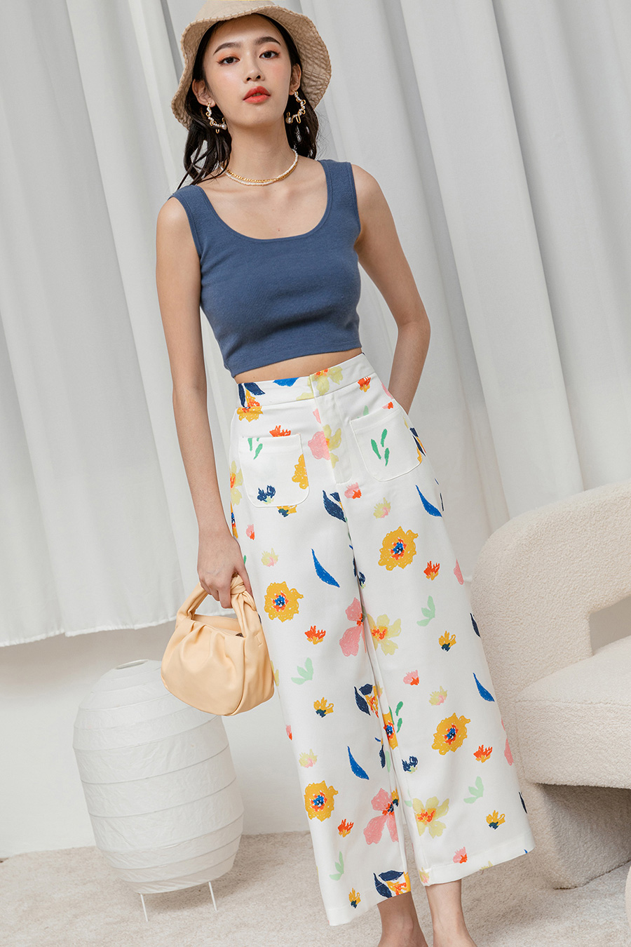 KERRY PANTS - GARDEN NOTES [BY MODPARADE]