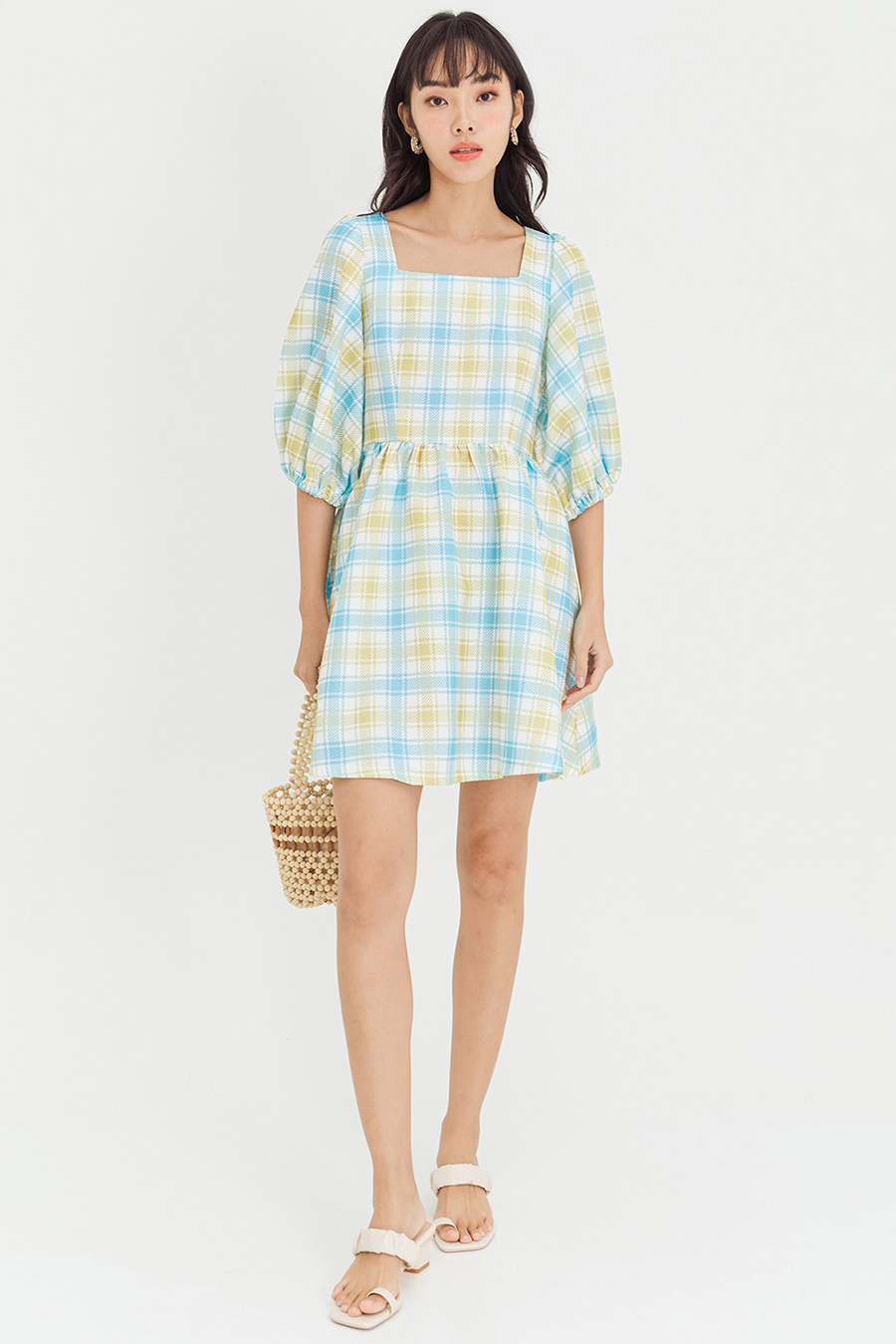 LAURENT DRESS - PLAID [BY MODPARADE]