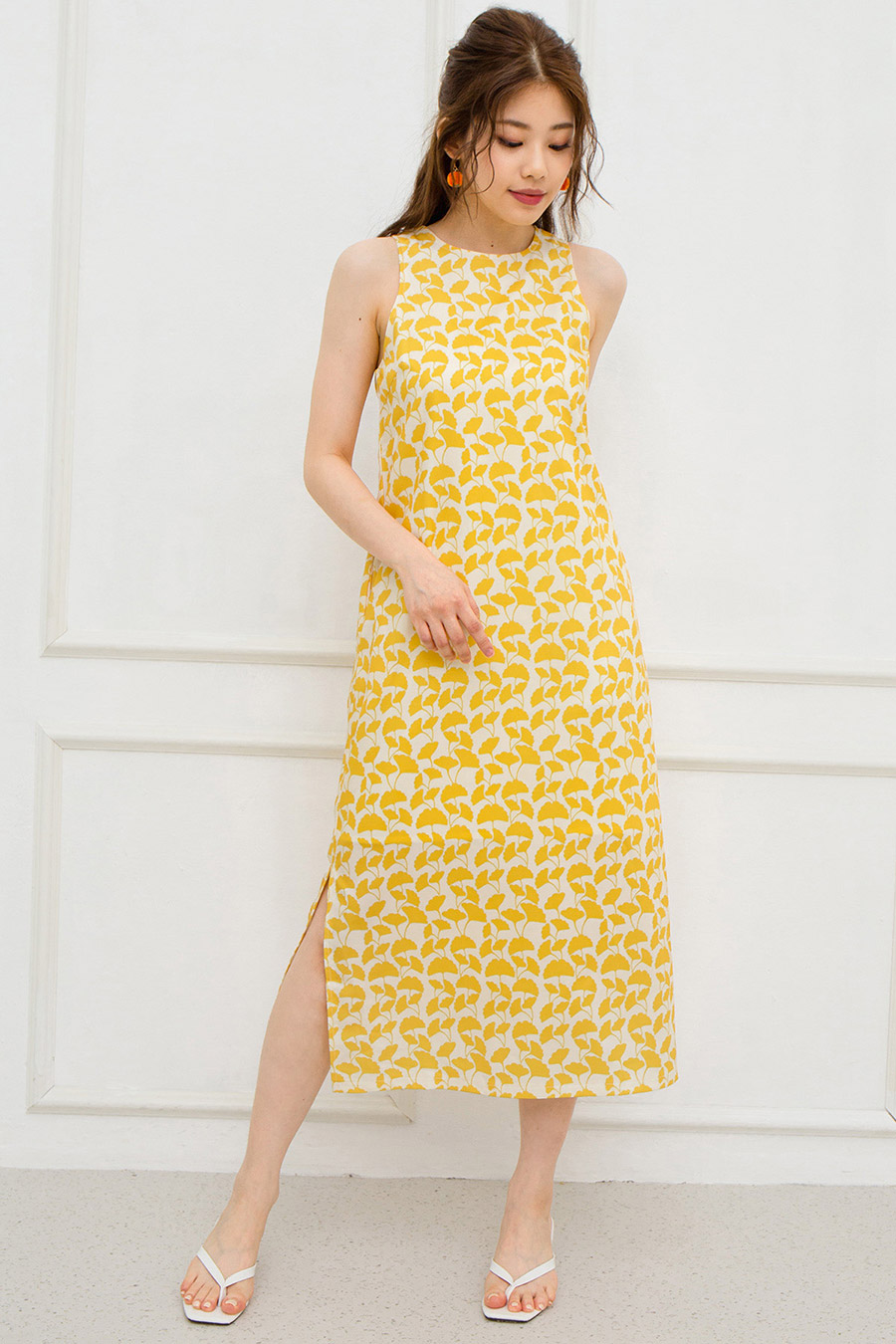 *RESTOCKED* MAREN DRESS - GINKGO [BY MODPARADE]