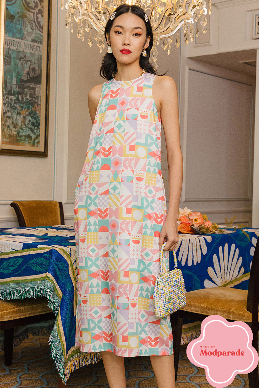 *RESTOCKED* MAREN DRESS - IDYLLIC [BY MODPARADE]