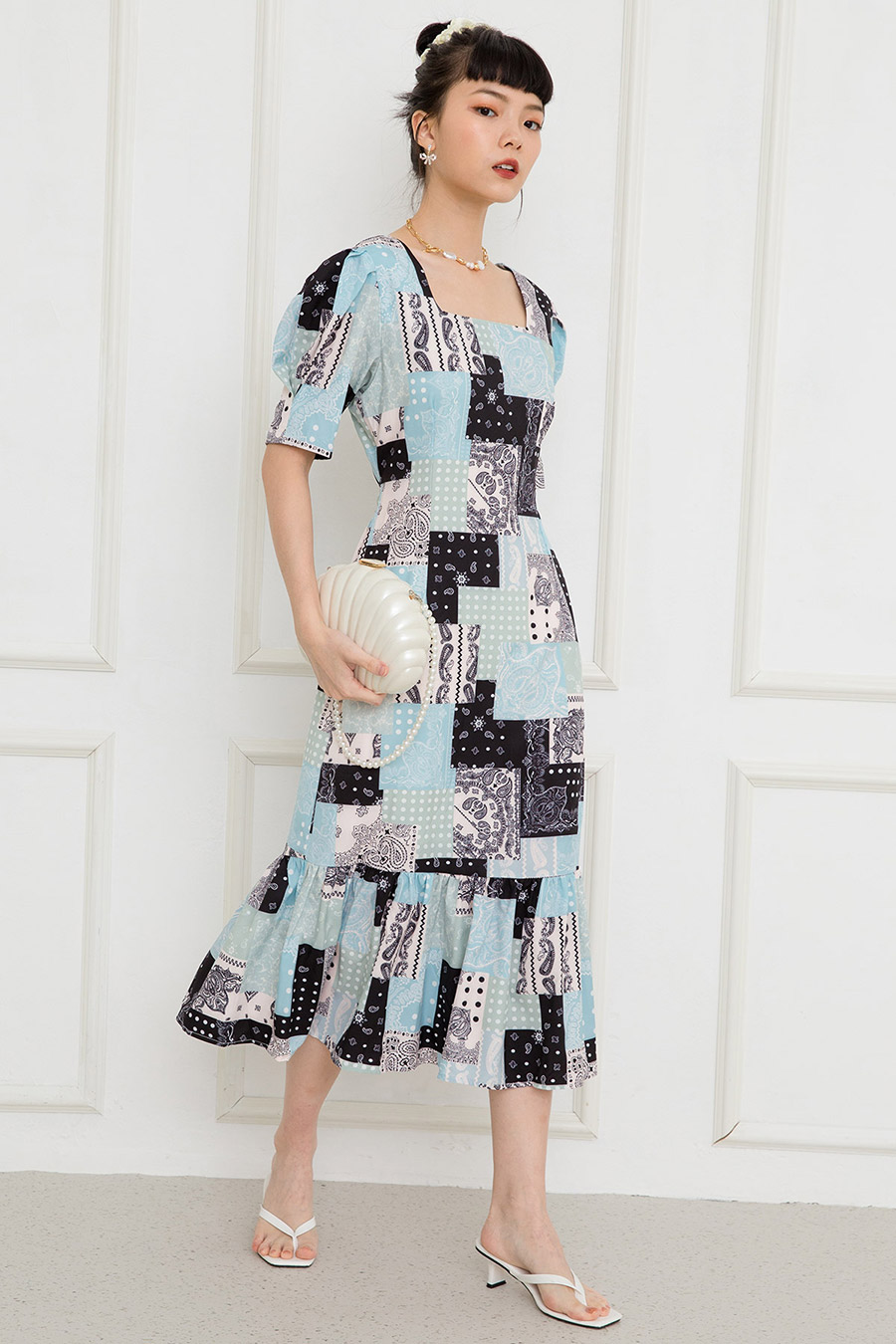 MARLOW DRESS - PATCHWORK