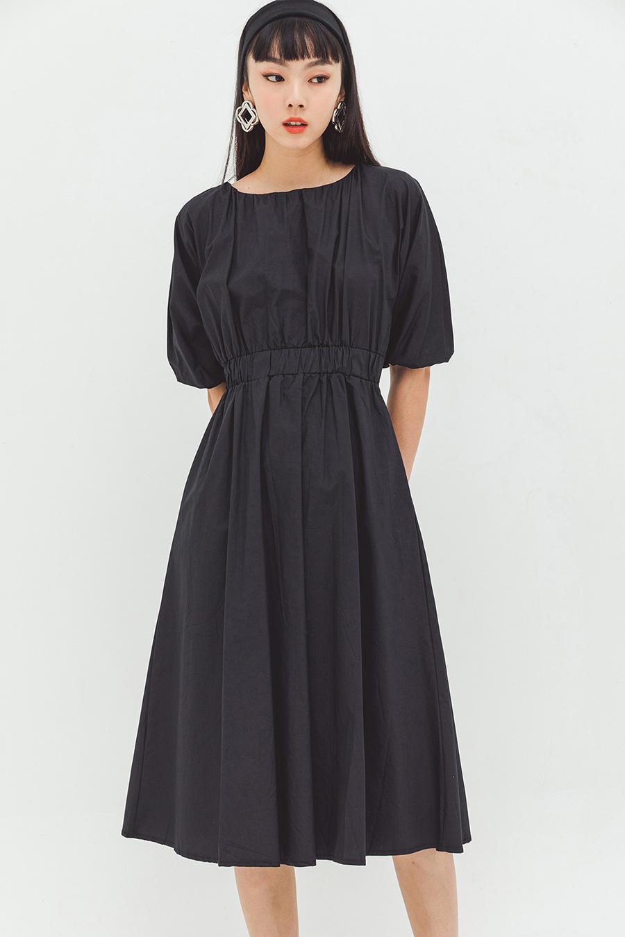 MARTINE DRESS - NOIR