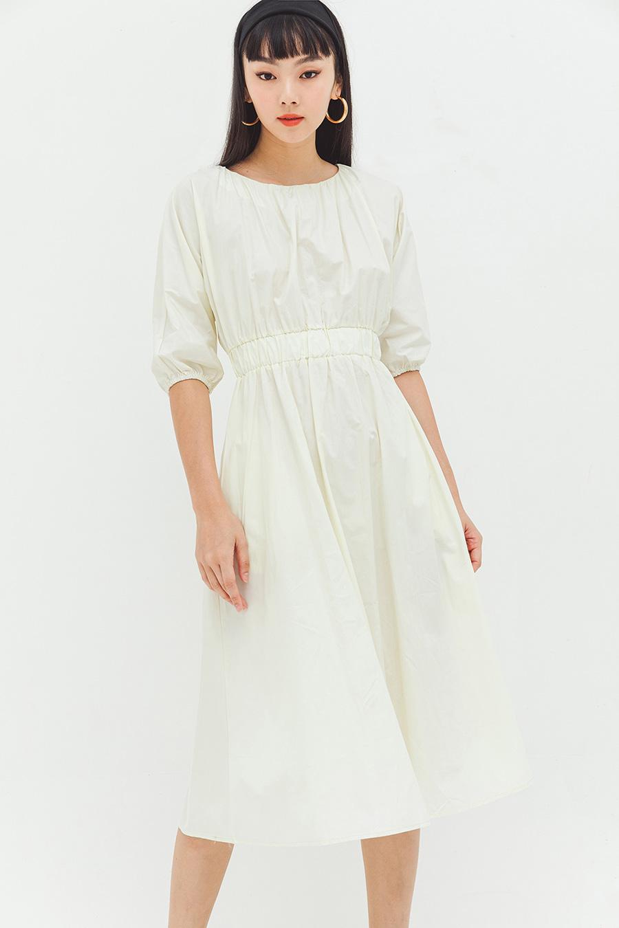 MARTINE DRESS - VANILLA