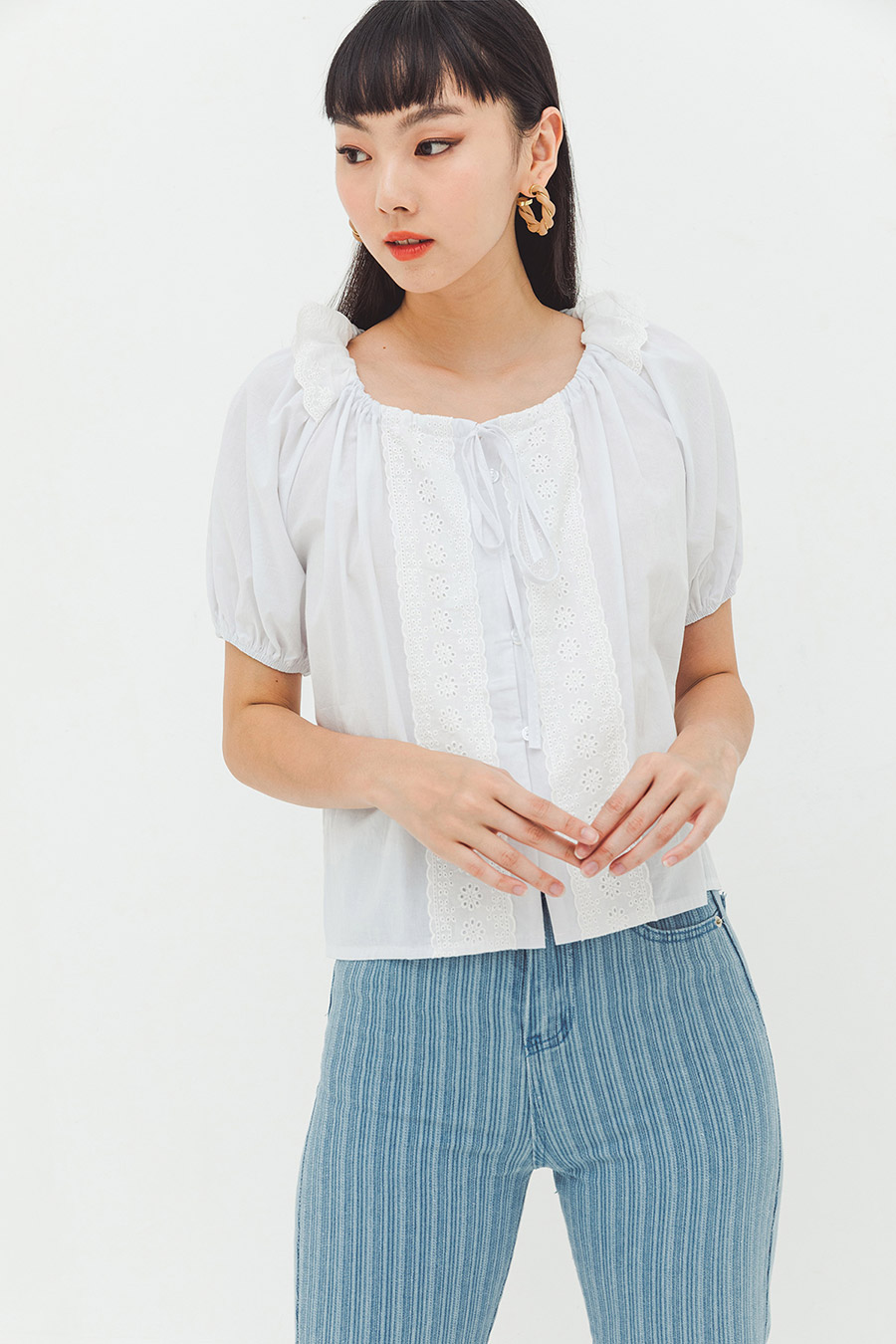 MARYVONNE TOP - IVORY