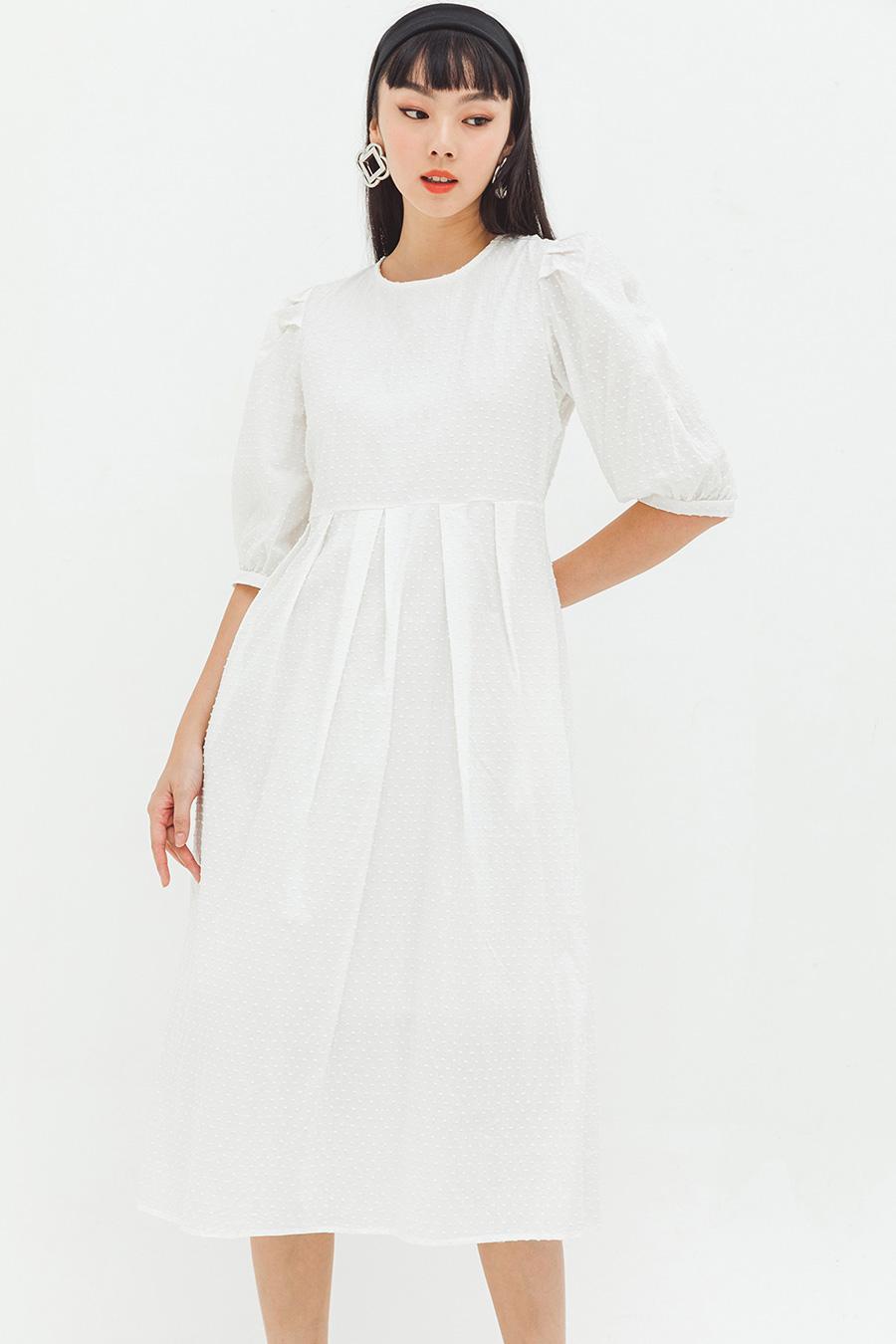 MISHAL DRESS - IVORY