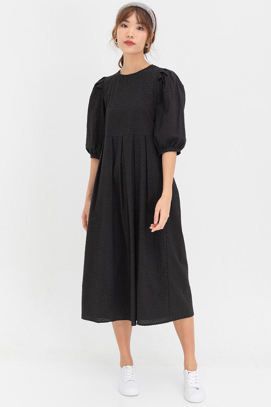 *BO* MISHAL DRESS - NOIR
