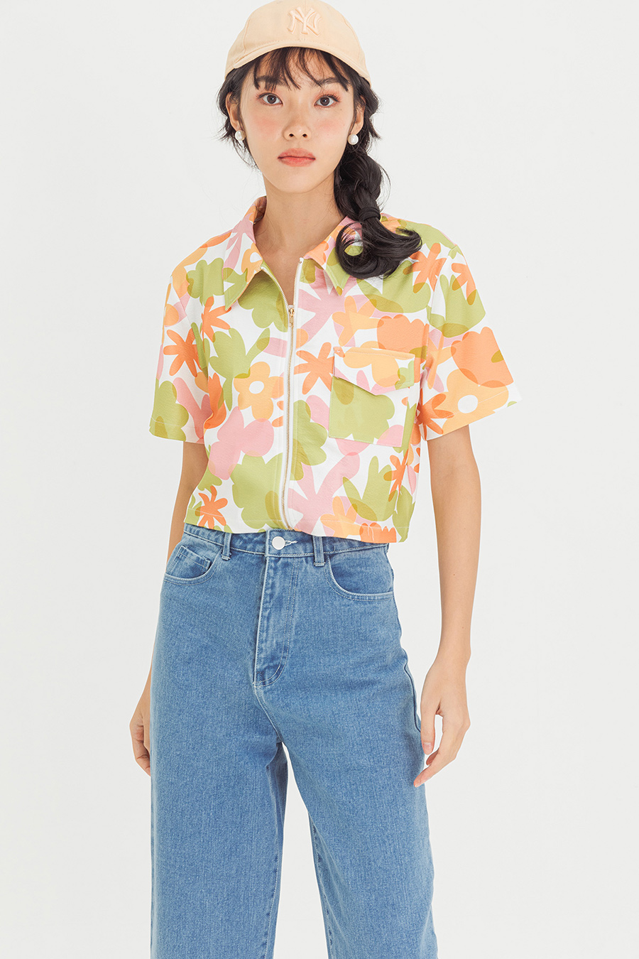 NOELIA TOP - SUNFLORA [BY MODPARADE]