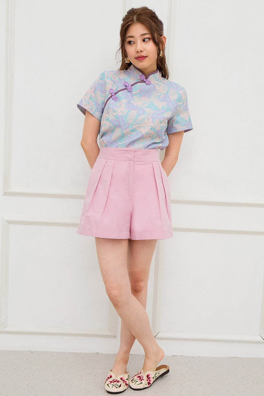 PENNY SHORTS - COTTON CANDY [BY MODPARADE]