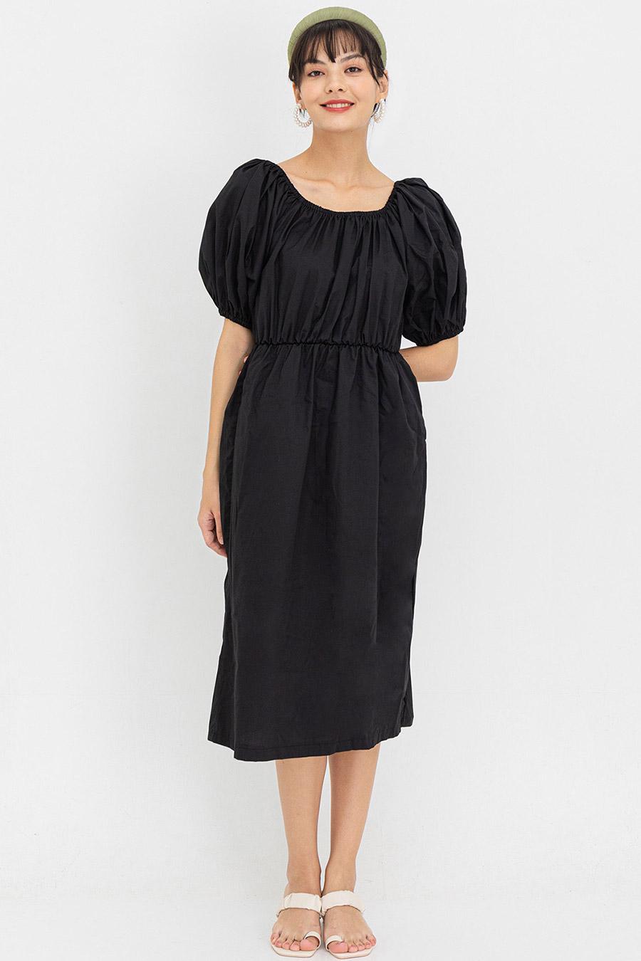 RENEE DRESS - NOIR