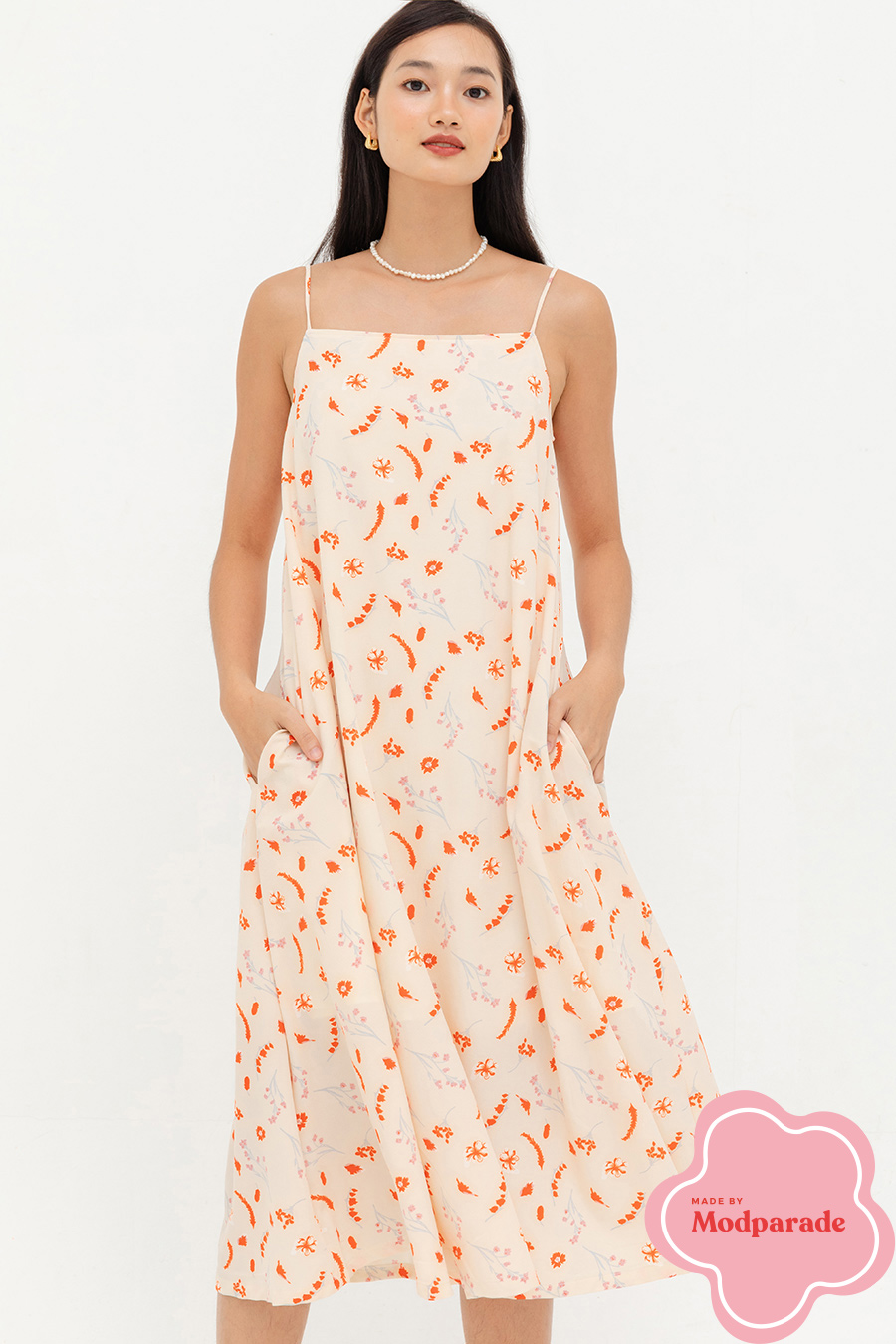 SENNA DRESS - NARCISSA [WAREHAUS EXCLUSIVE]