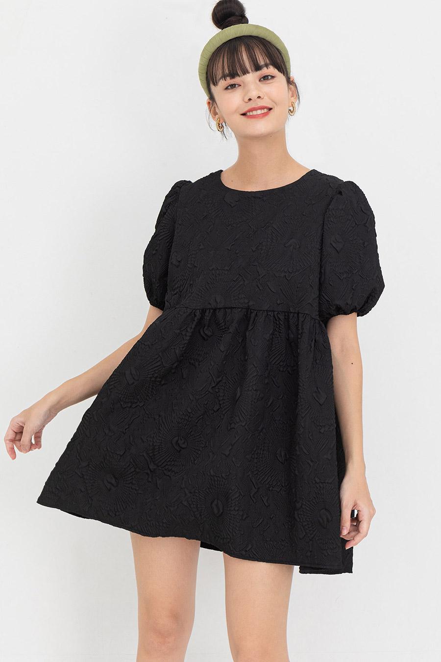 *BO* SIBLEY DRESS - NOIR