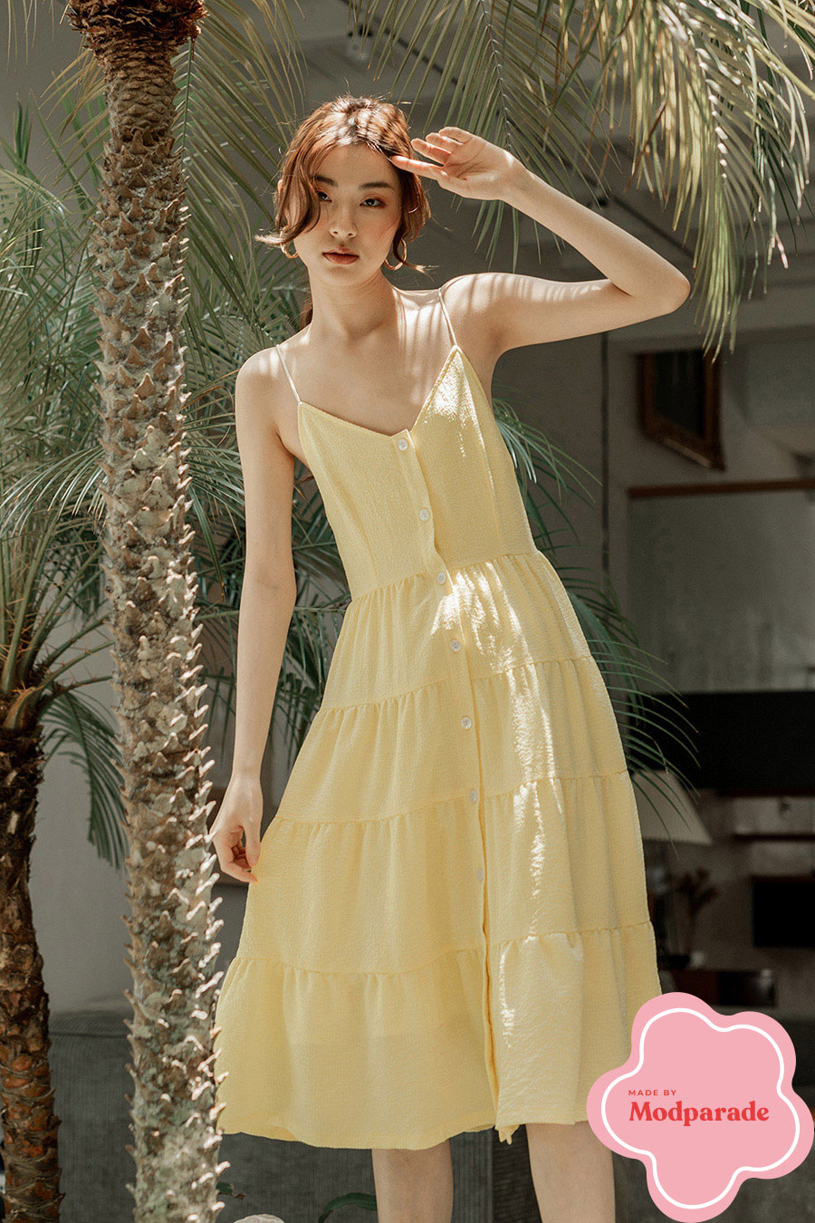 TAYLOR DRESS - BUTTERCUP [BY MODPARADE]