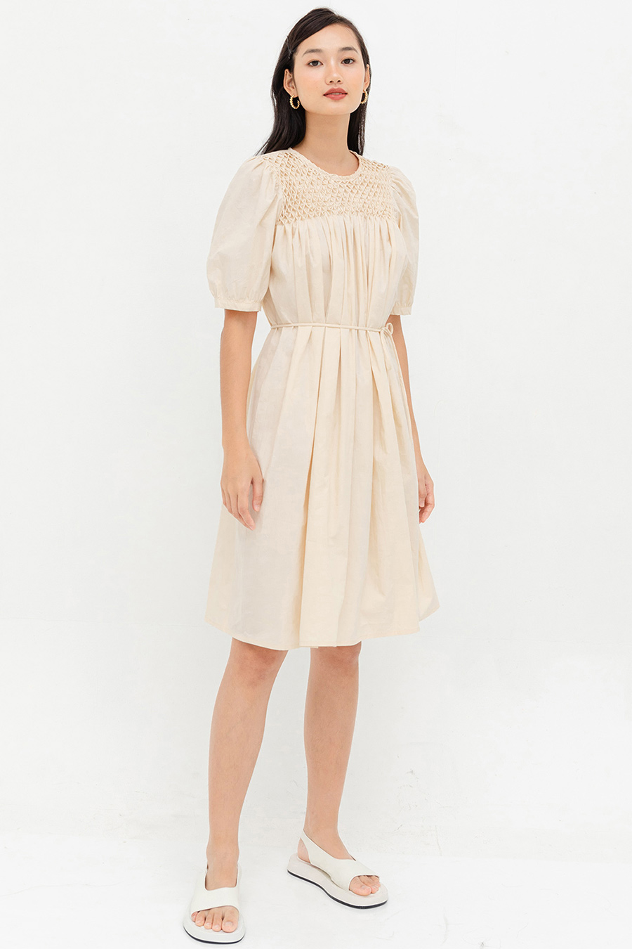 VALERIAN DRESS - SAND